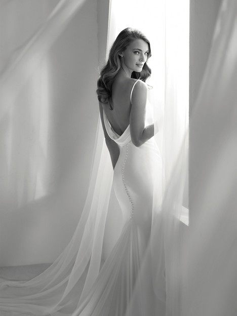 Ribelia Wedding                                          dress by Pronovias Atelier