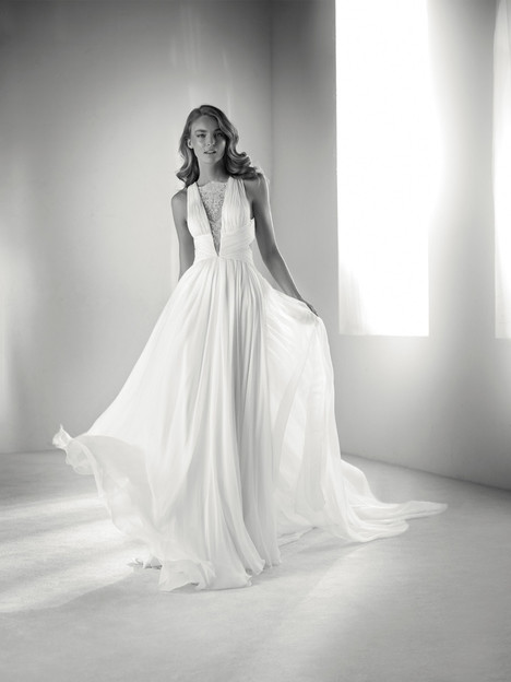 Rimor gown from the 2018 Pronovias Atelier collection, as seen on dressfinder.ca