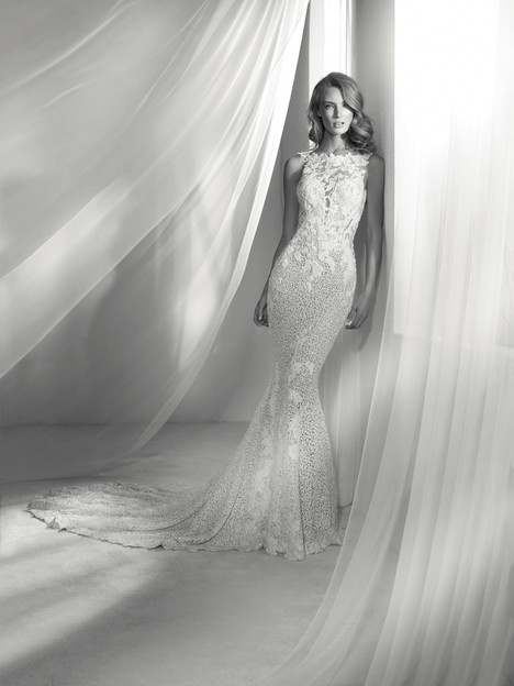 Romina gown from the 2018 Pronovias Atelier collection, as seen on dressfinder.ca