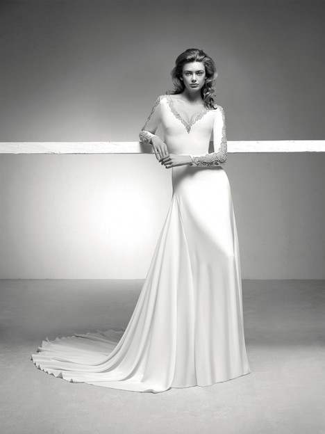 Icaria Wedding                                          dress by Pronovias Privée