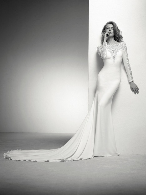 Ideal Wedding                                          dress by Pronovias Privée