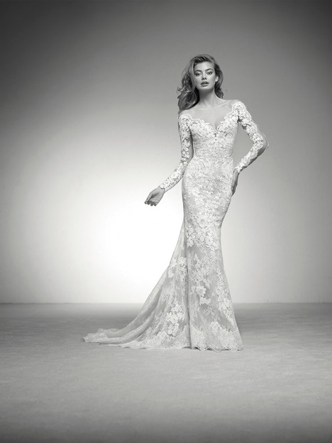 Iman Wedding dress by Pronovias Privée