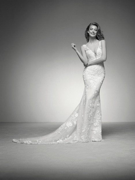 Ina Wedding                                          dress by Pronovias Privée