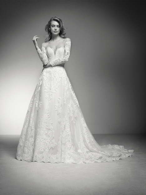India Wedding                                          dress by Pronovias Privée