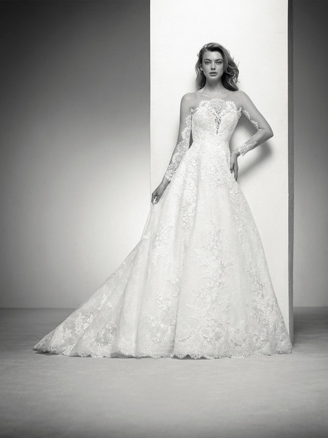 Indiana Wedding                                          dress by Pronovias Privée