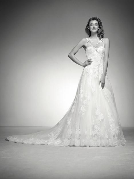 Ines Wedding                                          dress by Pronovias Privée