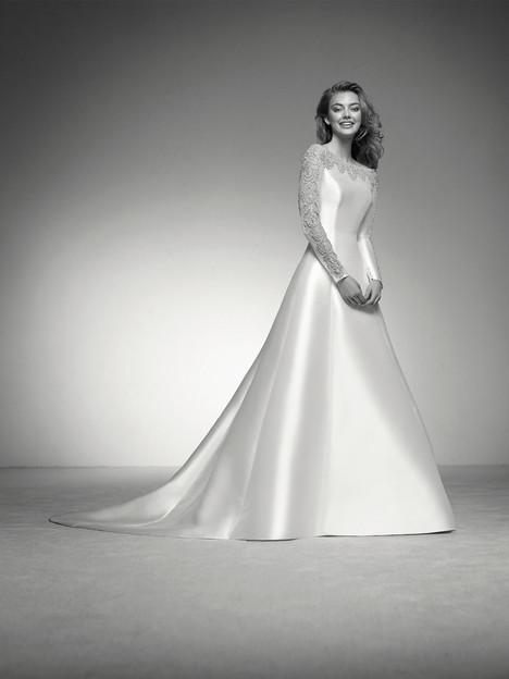 Inma Wedding                                          dress by Pronovias Privée