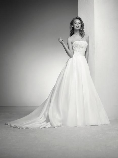Italia Wedding                                          dress by Pronovias Privée