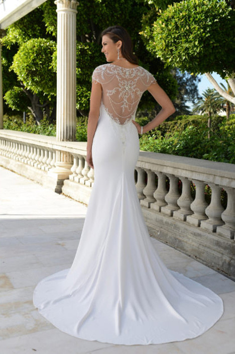 PA9297N (back) Wedding                                          dress by Venus Bridal: Pallas Athena