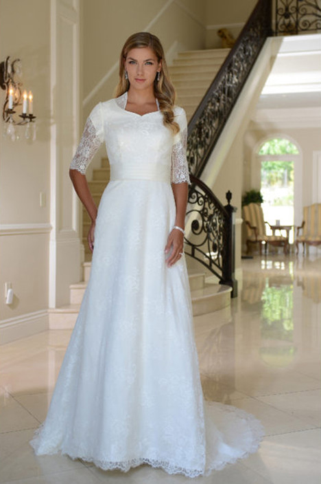 TB7757 Wedding                                          dress by Venus Modest
