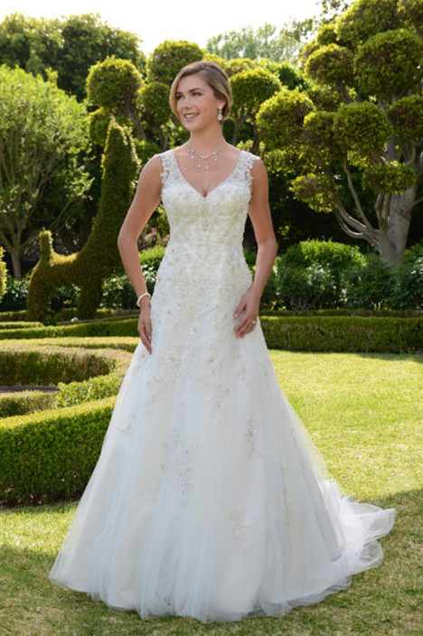 VE8308 Wedding                                          dress by Venus Bridal