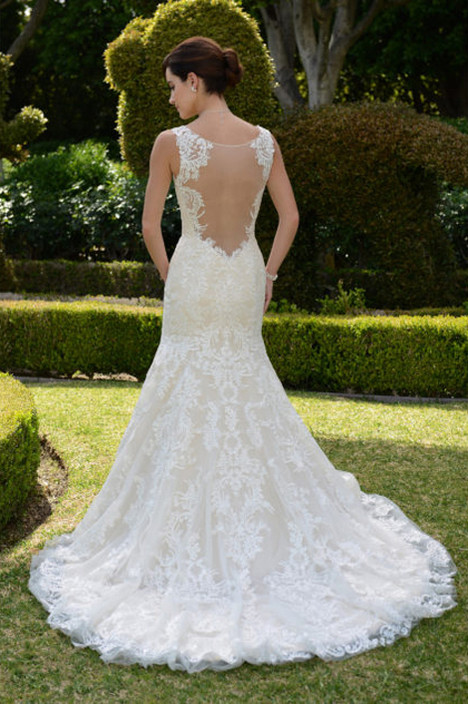 VE8311 (back) Wedding                                          dress by Venus Bridal