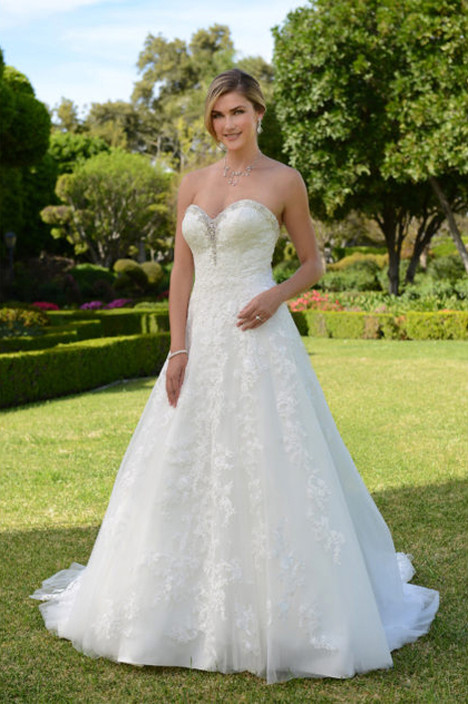 VE8312 Wedding                                          dress by Venus Bridal
