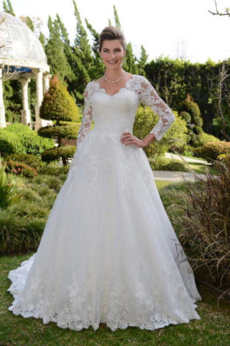 VE8326 Wedding                                          dress by Venus Bridal