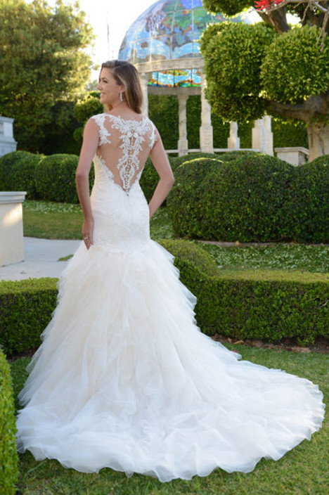 VE8356N (back) Wedding                                          dress by Venus Bridal