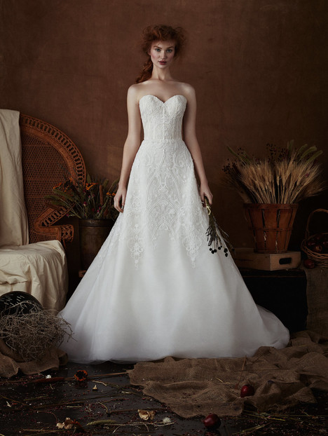 Mackie Wedding                                          dress by Isabelle Armstrong