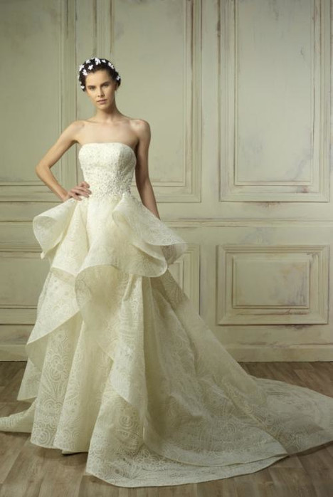 5184 Wedding                                          dress by Gemy Maalouf