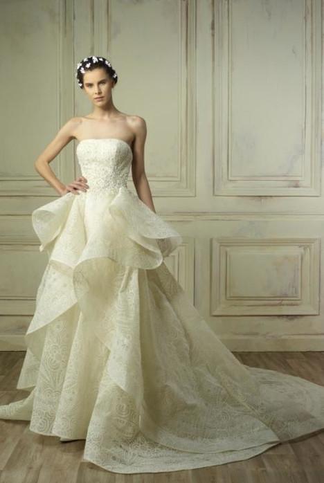 5184 Wedding                                          dress by Gemy Maalouf