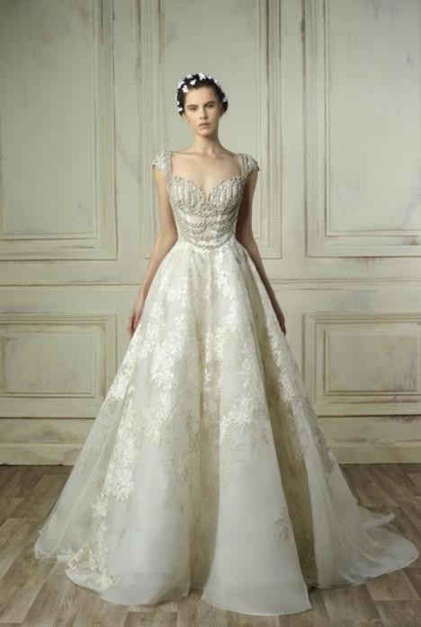 5187 Wedding                                          dress by Gemy Maalouf