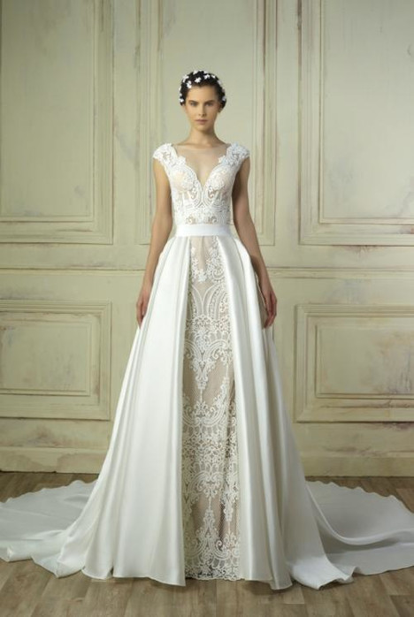 5195 (+ over skirt) Wedding                                          dress by Gemy Maalouf