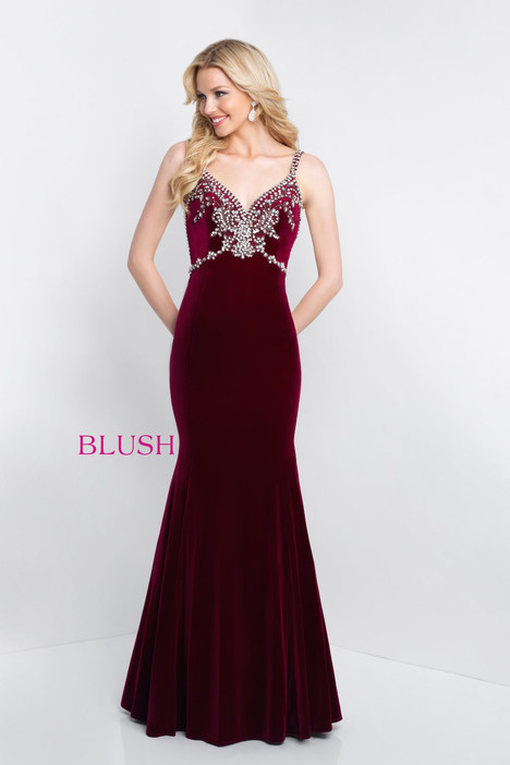 C1027 Prom                                             dress by Blush Prom