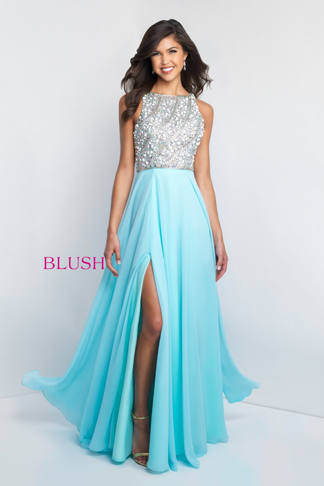 C1034 Prom                                             dress by Blush Prom