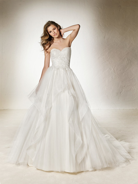 Cherry Wedding                                          dress by Pronovias One