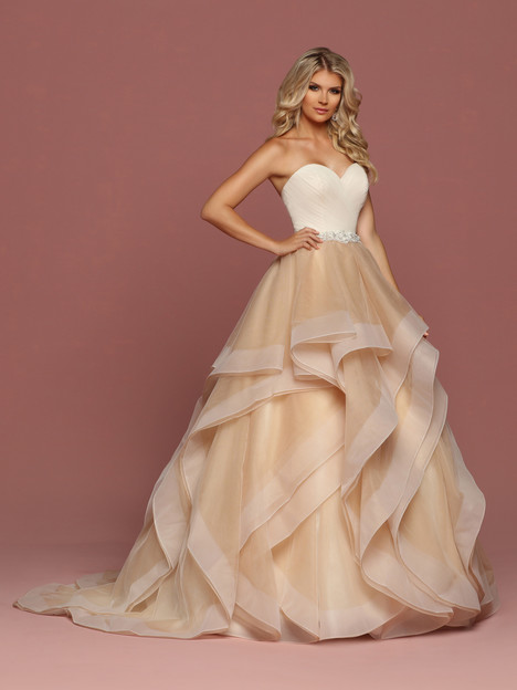50489 Wedding                                          dress by DaVinci