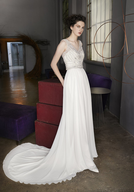 Marilyn Wedding                                          dress by Lusan Mandongus