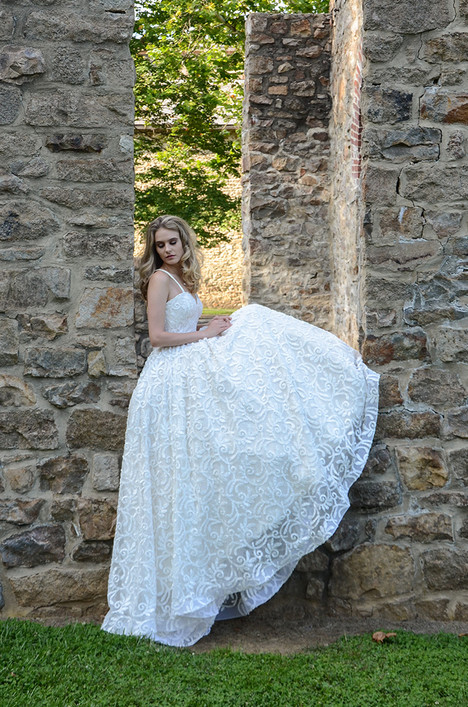 Lulu (476) Wedding                                          dress by Barbara Kavchok