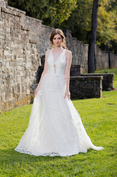 Zinnia (480) Wedding                                          dress by Barbara Kavchok