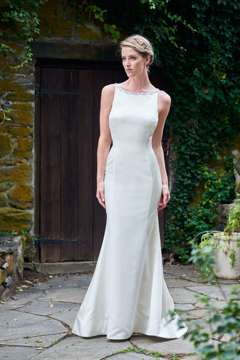 2085 Bridesmaids                                      dress by Bari Jay : White
