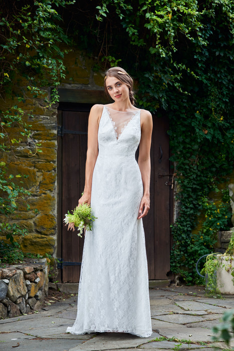 2086 Bridesmaids                                      dress by Bari Jay : White