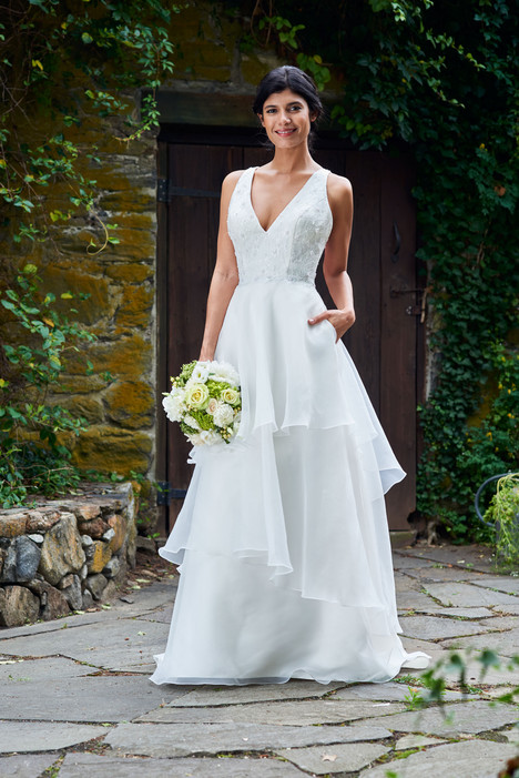 2092 Bridesmaids                                      dress by Bari Jay : White