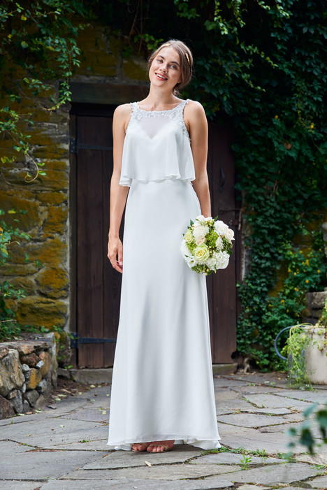 2093 Bridesmaids                                      dress by Bari Jay : White