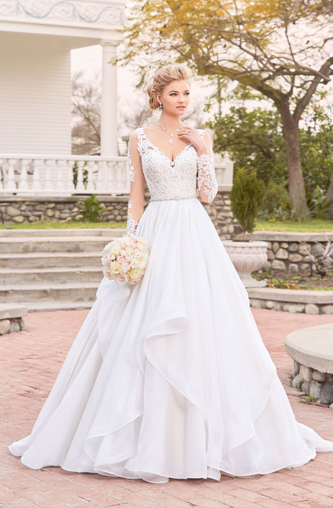 Adele (V1817) Wedding                                          dress by KittyChen Ivoire