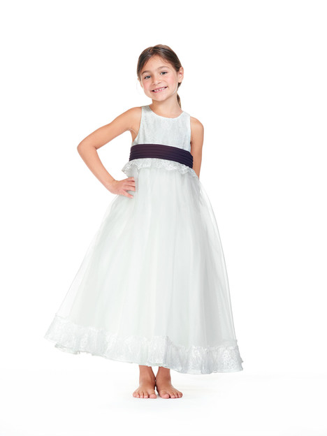 F0618 Flower Girl                                      dress by Bari Jay: Flower Girls
