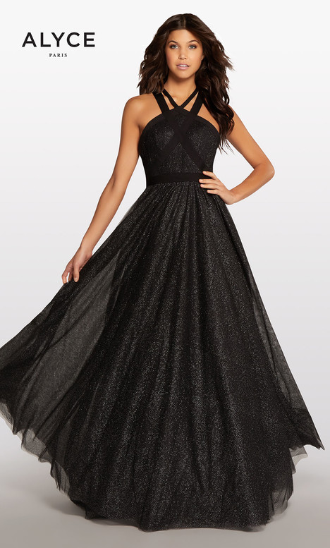 118 (Black) Prom                                             dress by Alyce Paris