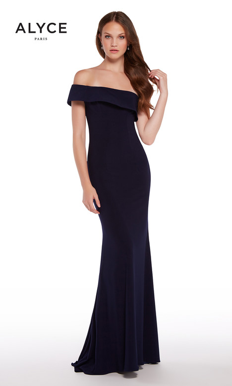 59997 (Navy) Prom                                             dress by Alyce Paris