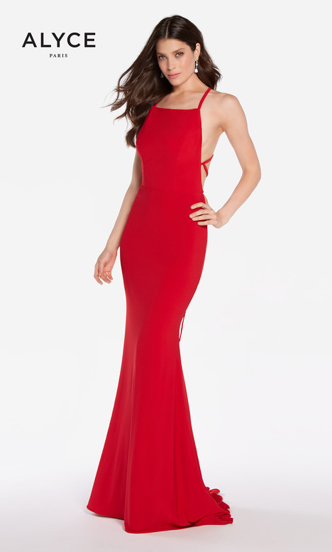 60001 (Red) Prom                                             dress by Alyce Paris
