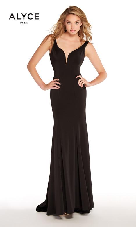 60002 (Black) Prom                                             dress by Alyce Paris