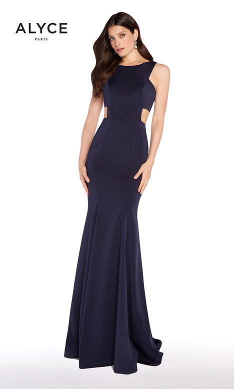 60008 (Navy) gown from the 2018 Alyce Paris collection, as seen on dressfinder.ca
