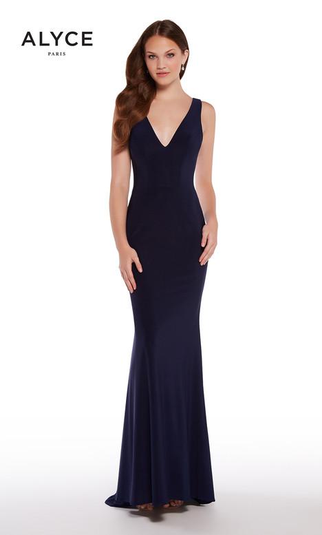 600091 (Navy) Prom dress by Alyce Paris