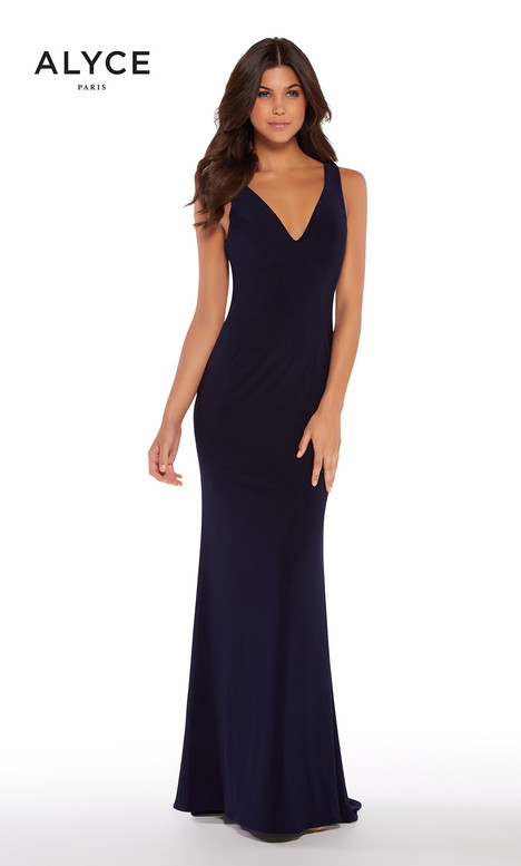 600092 (Navy) gown from the 2018 Alyce Paris collection, as seen on dressfinder.ca
