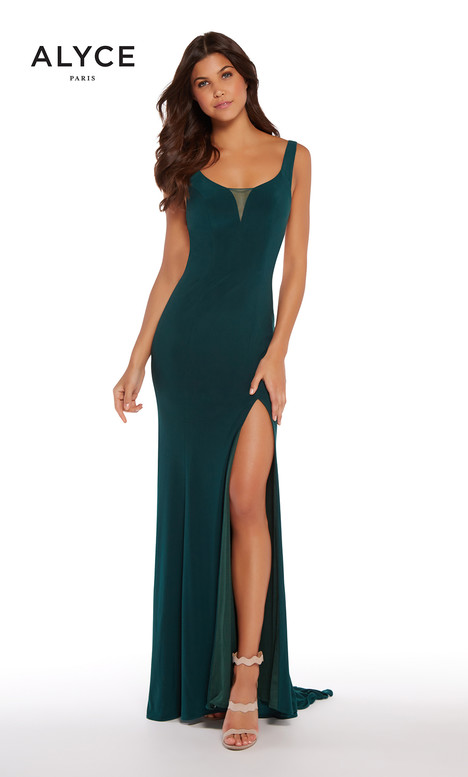 60011 (Forest) Prom                                             dress by Alyce Paris