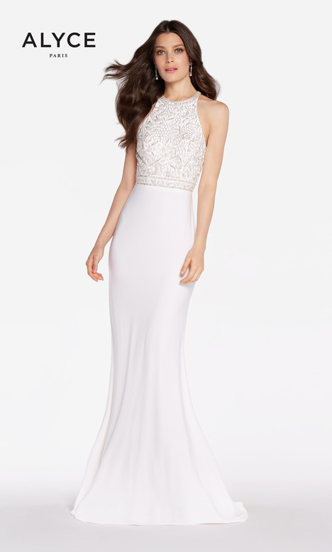 60023 (Diamond White) Prom dress by Alyce Paris