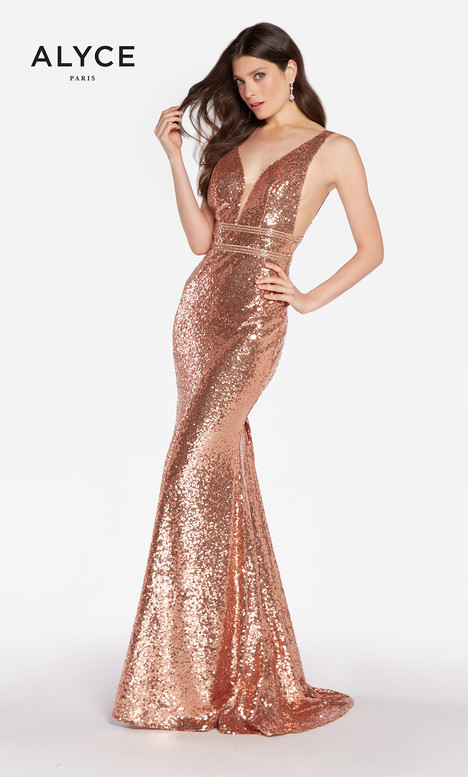 60036 (Rose Gold) Prom                                             dress by Alyce Paris
