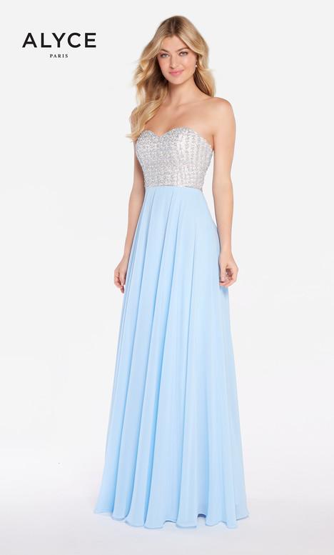 60047 (Periwinkle) Prom                                             dress by Alyce Paris