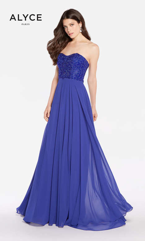 60049 (Royal) gown from the 2018 Alyce Paris collection, as seen on dressfinder.ca