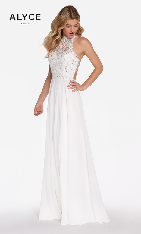60061 (Diamond White) gown from the 2018 Alyce Paris collection, as seen on dressfinder.ca